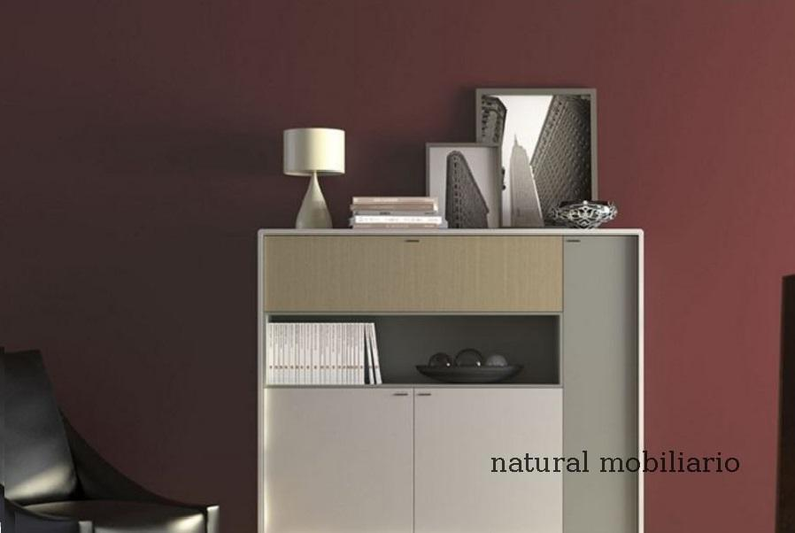 Muebles Modernos chapa natural/lacados salon moderno herevint 1-672-755