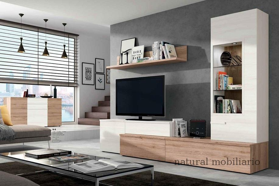 Natural mobiliario murcia natural mobiliario salones for Mueble salon moderno blanco