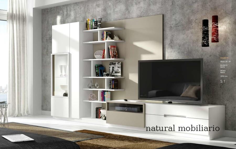 Muebles Modernos chapa natural/lacados salon moderno guar 2-486-600