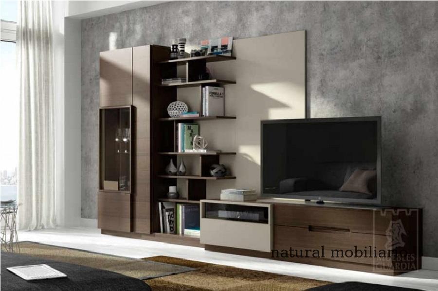 Muebles Modernos chapa natural/lacados salon moderno guar 2-486-601