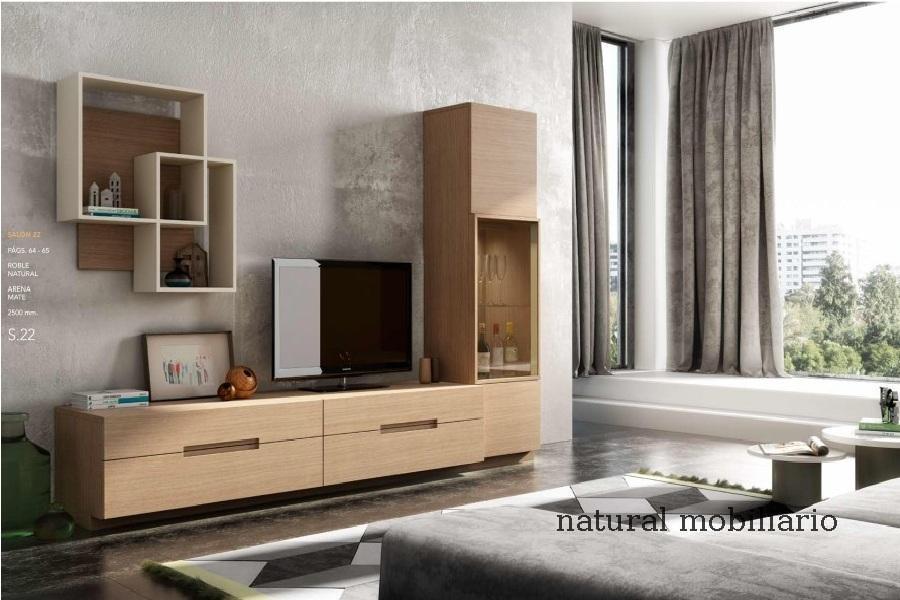 Muebles Modernos chapa natural/lacados salon moderno guar 2-486-621