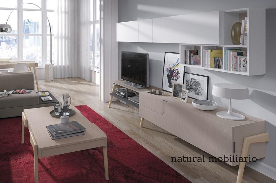 Muebles Modernos chapa natural/lacados salon moderno mese1-782-679