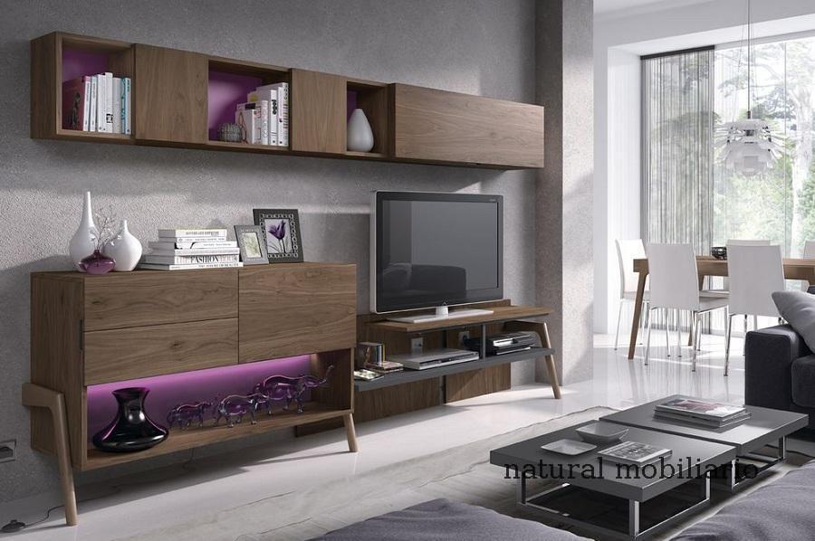 Muebles Modernos chapa natural/lacados salon moderno mese1-782-681