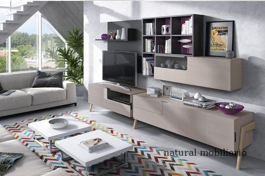 Muebles Modernos chapa natural/lacados salon moderno mese1-782-686
