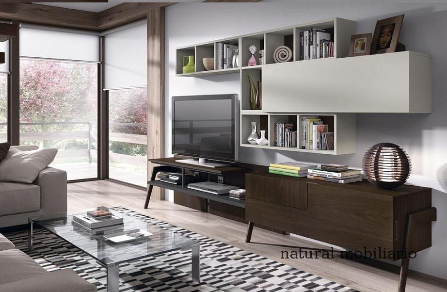 Muebles Modernos chapa natural/lacados salon moderno mese1-782-680