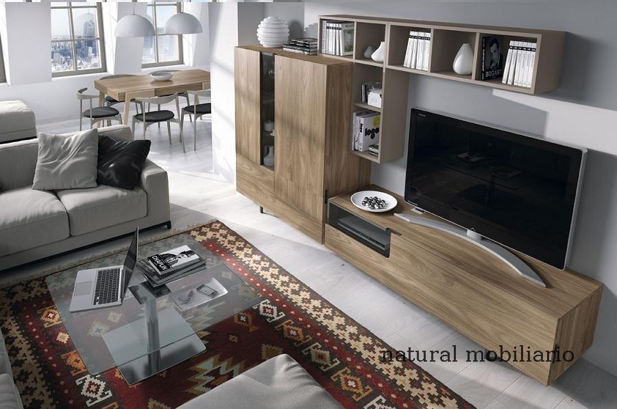 Muebles Modernos chapa natural/lacados salon moderno mese1-782-677