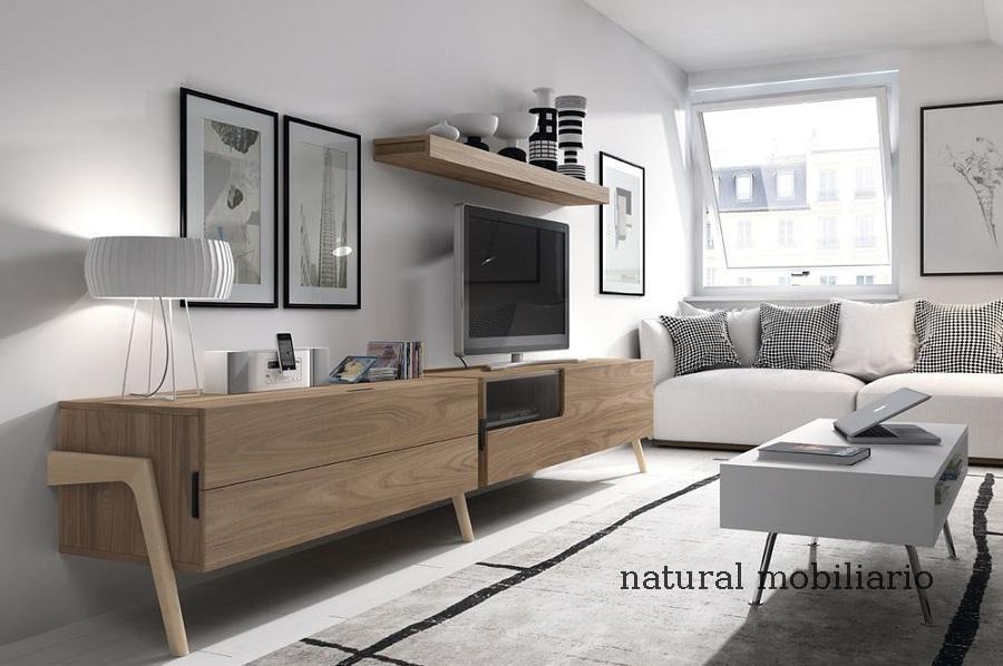 Muebles Modernos chapa natural/lacados salon moderno mese1-782-685