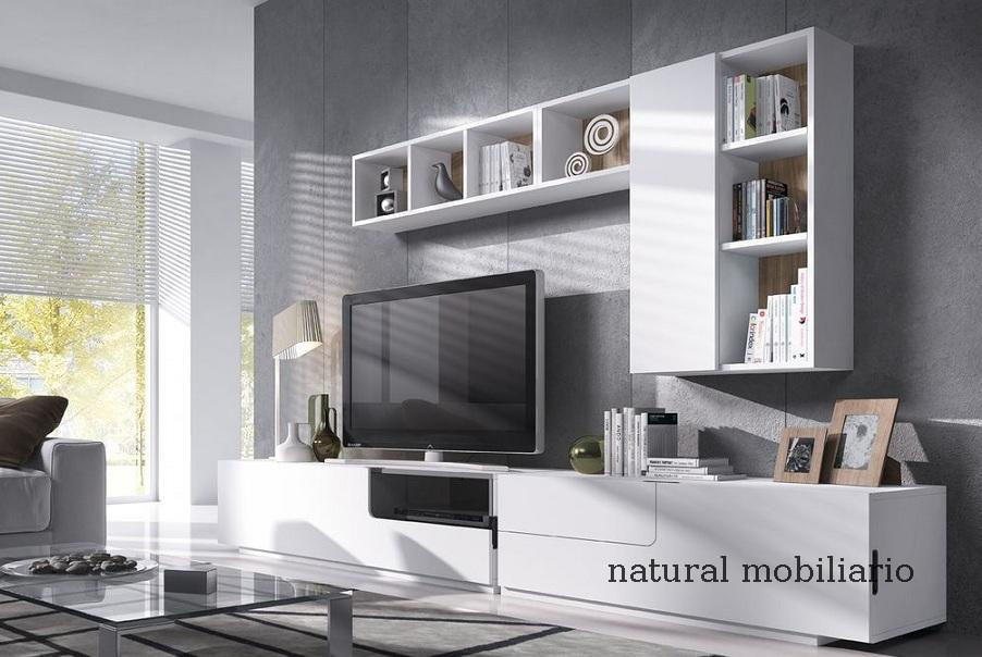 Muebles Modernos chapa natural/lacados salon moderno mese1-782-682