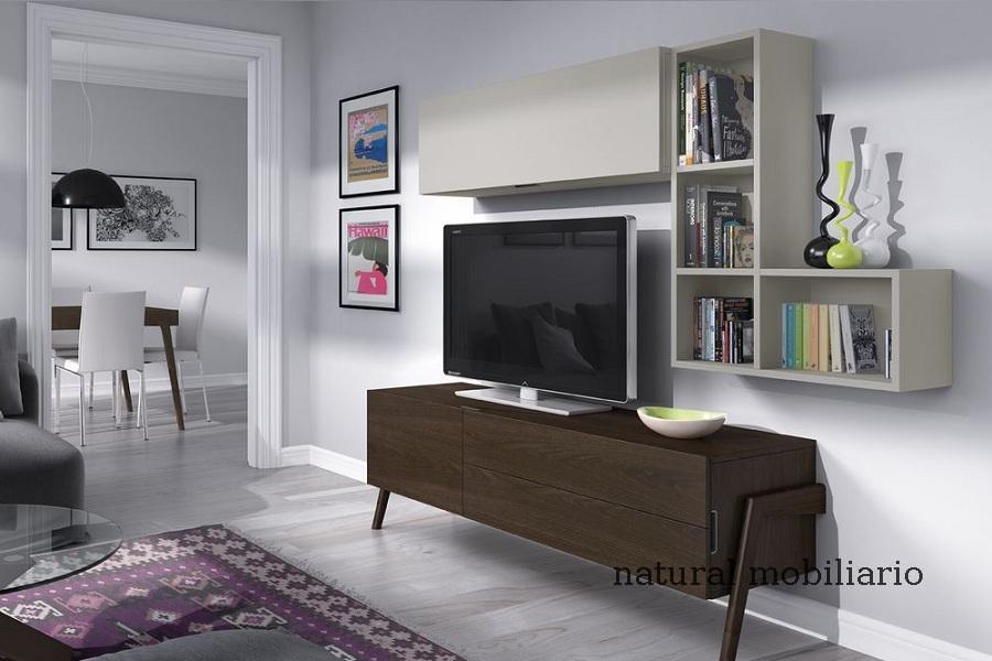 Muebles Modernos chapa natural/lacados salon moderno mese1-782-684