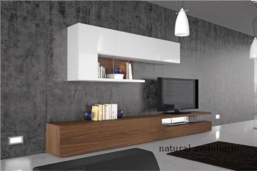 Muebles Modernos chapa natural/lacados salon moderno gism 1-62-809