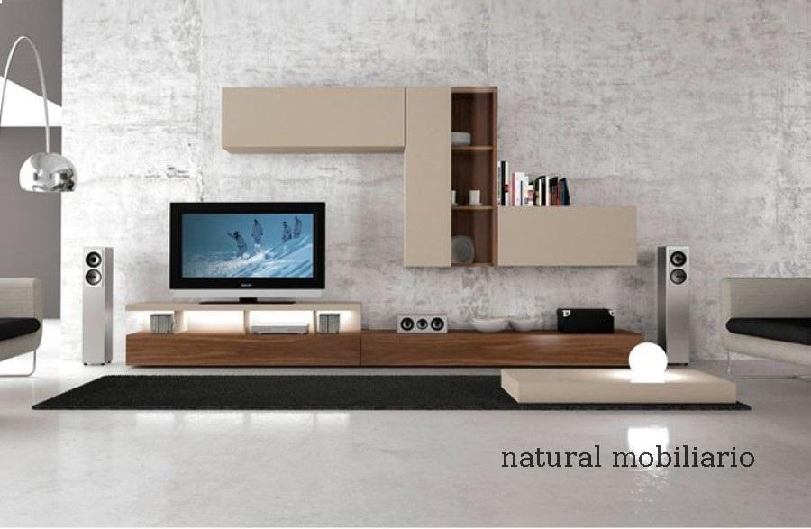 Muebles Modernos chapa natural/lacados salon moderno gism 1-62-806