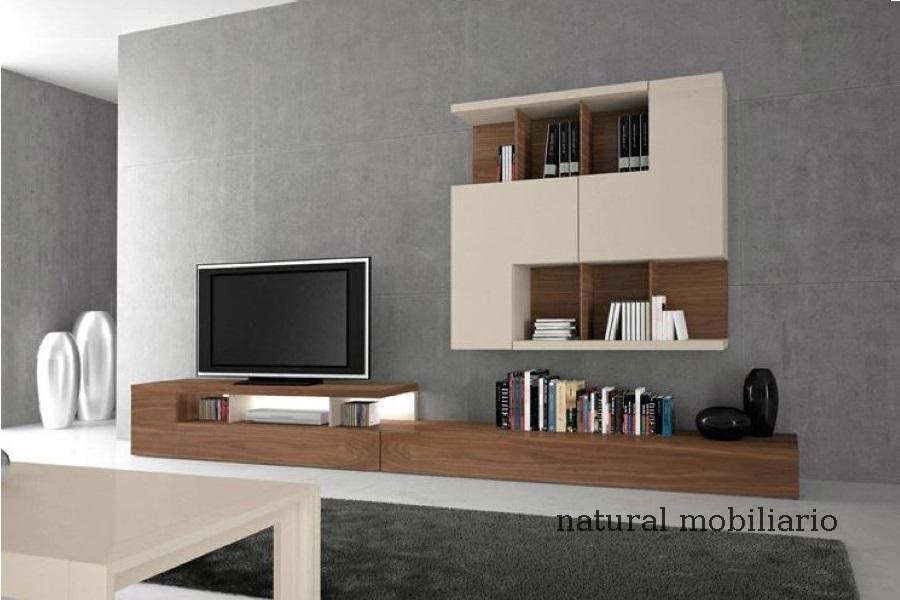 Muebles Modernos chapa natural/lacados salon moderno gism 1-62-803