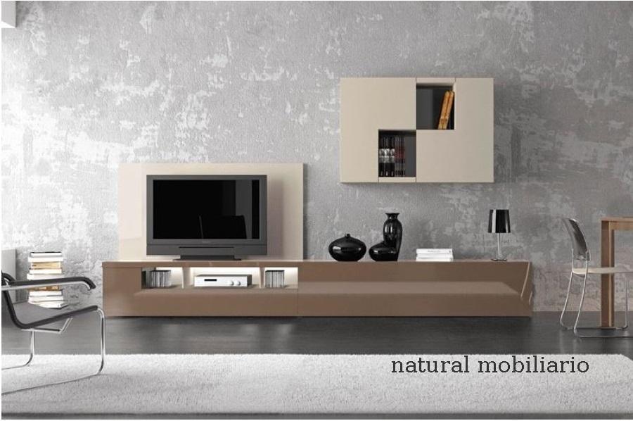 Muebles Modernos chapa natural/lacados salon moderno gism 1-62-810