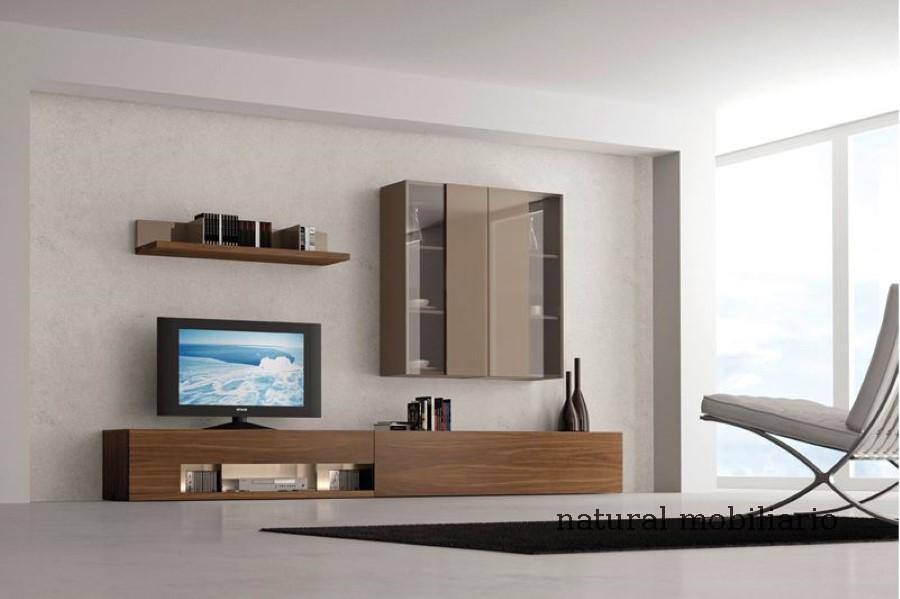 Muebles Modernos chapa natural/lacados salon moderno gism 1-62-808