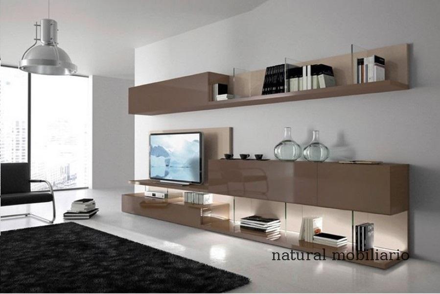 Muebles Modernos chapa natural/lacados salon moderno gism 1-62-805