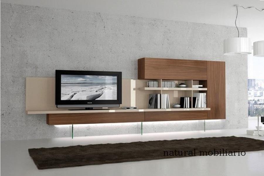 Muebles Modernos chapa natural/lacados salon moderno gism 1-62-800