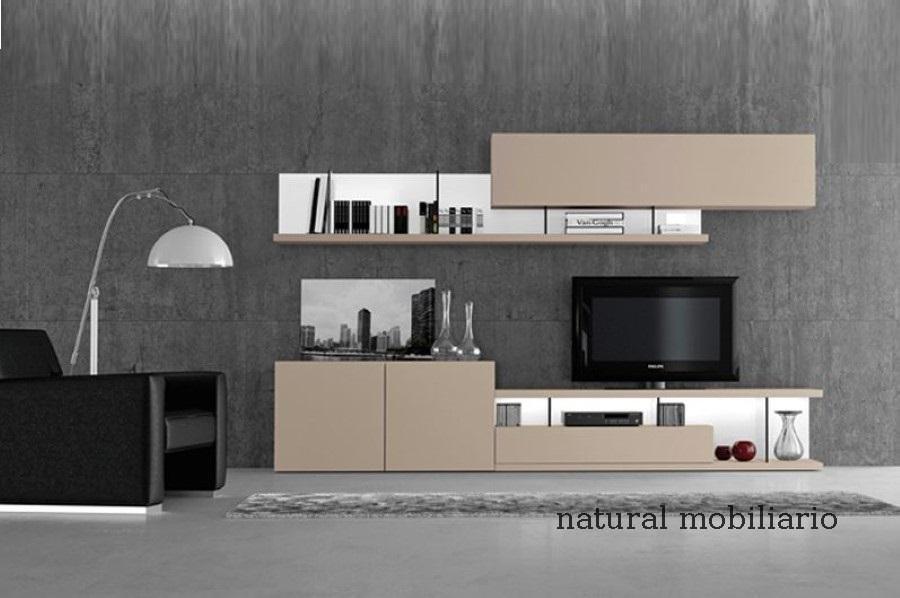 Muebles Modernos chapa natural/lacados salon moderno gism 1-62-804