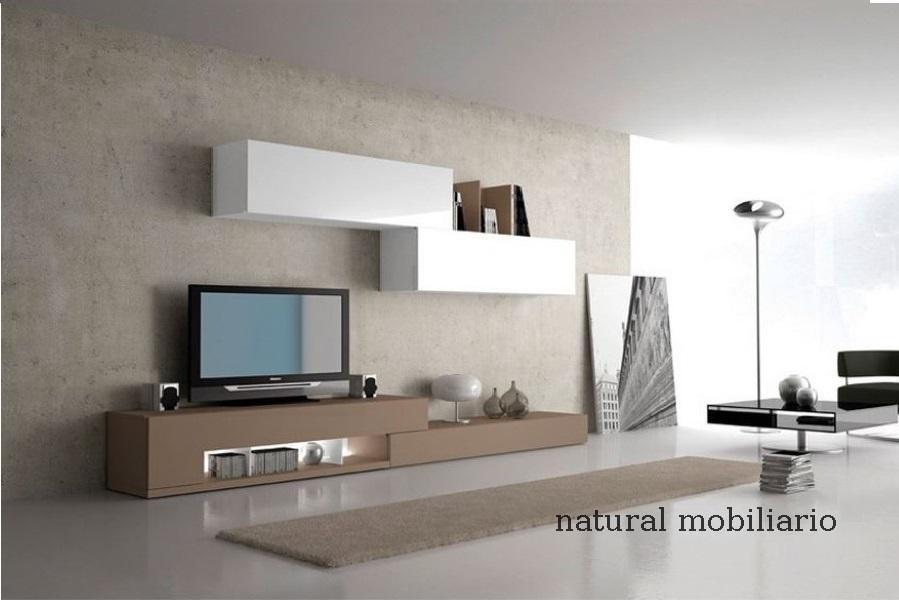 Muebles Modernos chapa natural/lacados salon moderno gism 1-62-811