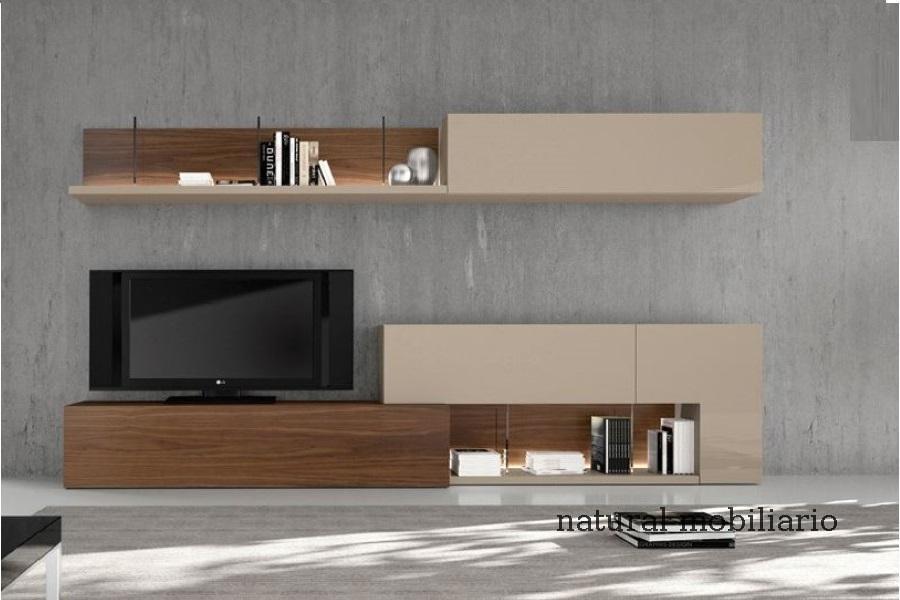 Muebles Modernos chapa natural/lacados salon moderno gism 1-62-802