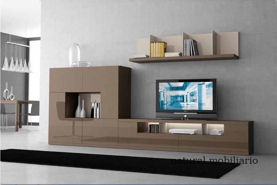 Muebles Modernos chapa natural/lacados salon moderno gism 1-62-807