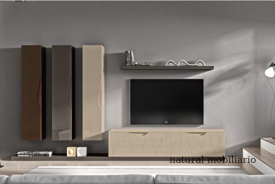 Muebles Modernos chapa natural/lacados salon moderno rovi 1-19-864