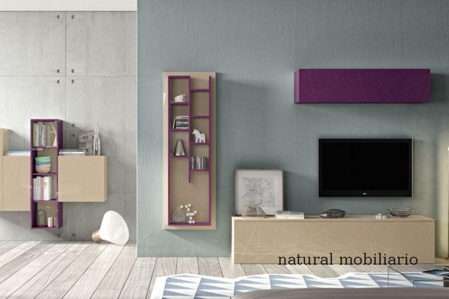 Muebles Modernos chapa natural/lacados salon moderno rovi 1-19-857