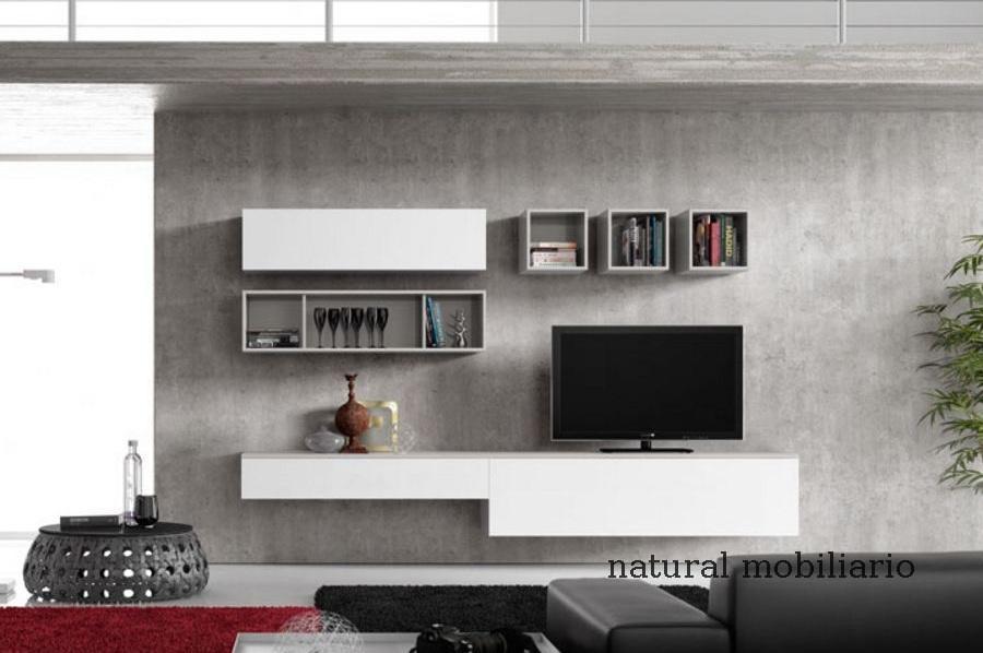 Muebles Modernos chapa natural/lacados salon moderno rovi 1-19-859