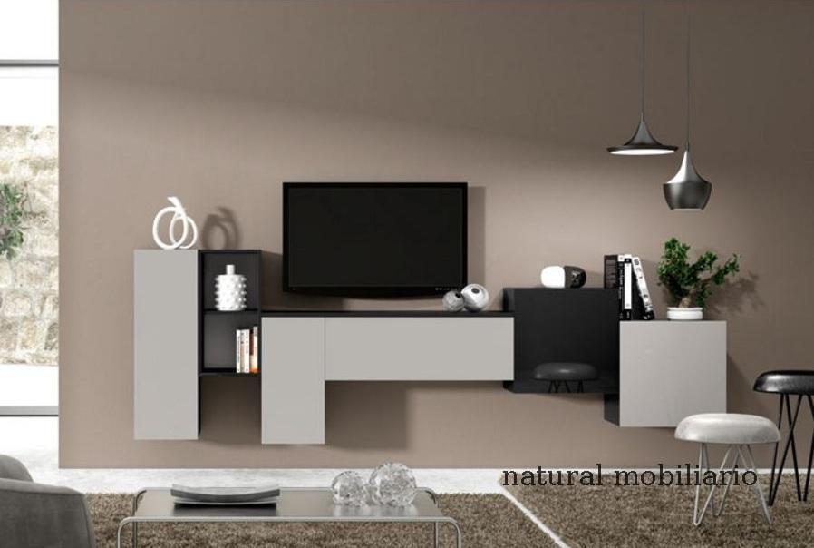 Muebles Modernos chapa natural/lacados salon moderno rovi 1-19-866