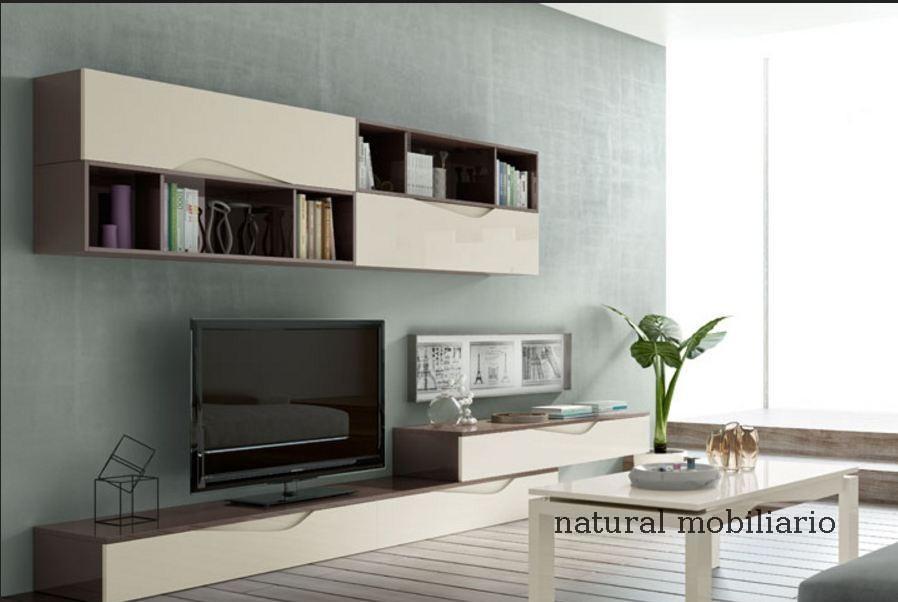 Muebles Modernos chapa natural/lacados salon moderno rovi 1-19-853