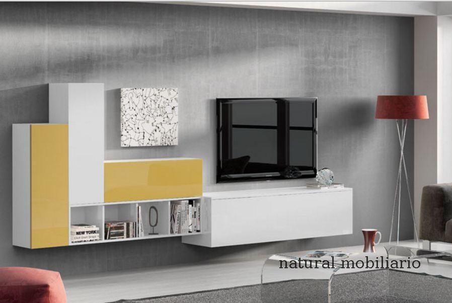 Muebles Modernos chapa natural/lacados salon moderno rovi 1-19-863