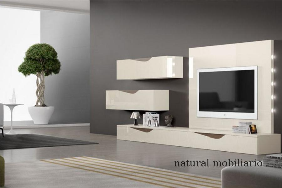 Muebles Modernos chapa natural/lacados salon moderno rovi 1-19-865