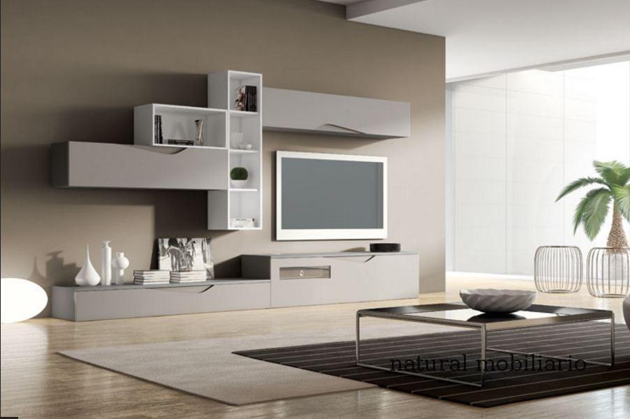 Muebles Modernos chapa natural/lacados salon moderno rovi 1-19-854