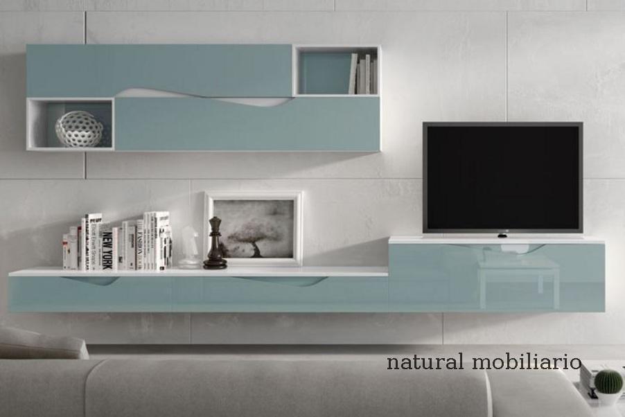 Muebles Modernos chapa natural/lacados salon moderno rovi 1-19-860