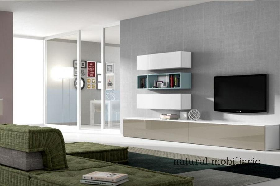 Muebles Modernos chapa natural/lacados salon moderno rovi 1-19-852
