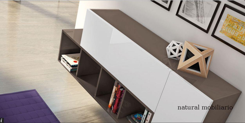 Muebles Modernos chapa natural/lacados salon moderno rovi 1-19-861