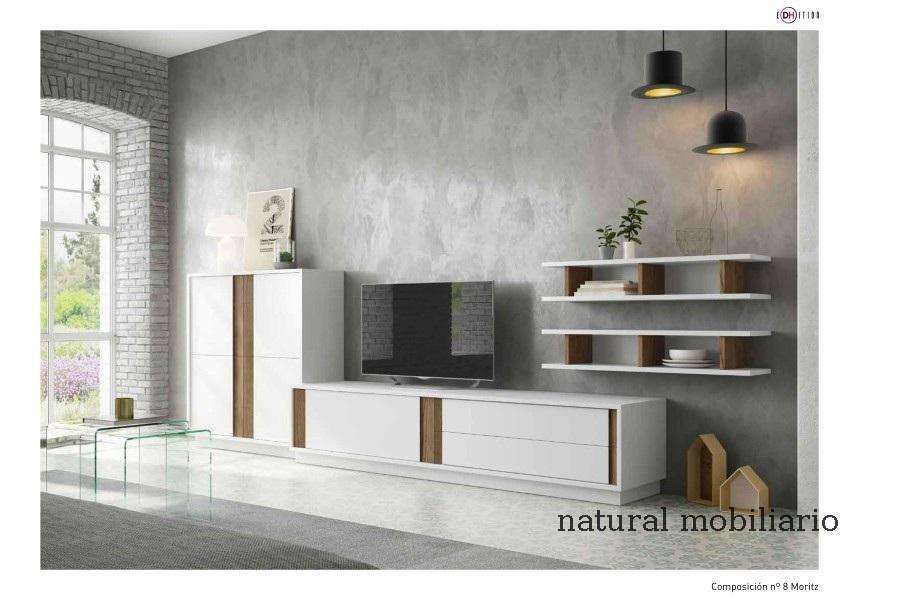 Muebles Modernos chapa natural/lacados salon moderno duho  11-55-960