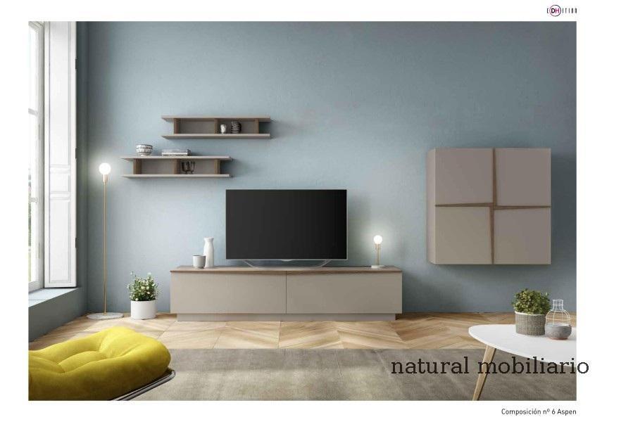 Muebles Modernos chapa natural/lacados salon moderno duho  11-55-957