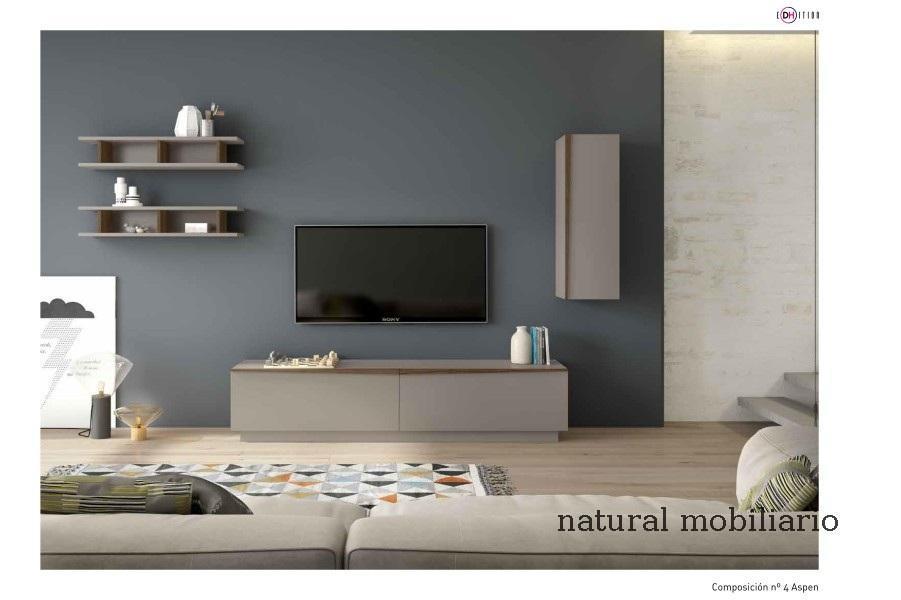Muebles Modernos chapa natural/lacados salon moderno duho  11-55-955