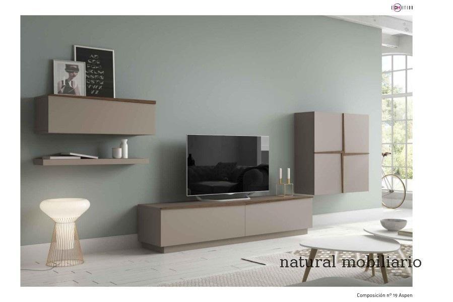 Muebles Modernos chapa natural/lacados salon moderno duho  11-55-974