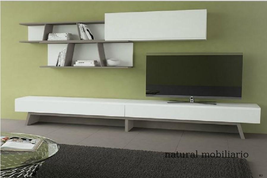 Muebles Modernos chapa natural/lacados salon moderno gism 1-628-1013