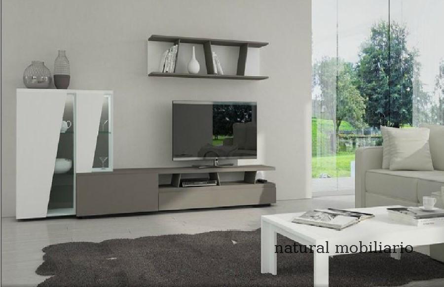 Muebles Modernos chapa natural/lacados salon moderno gism 1-628-1011