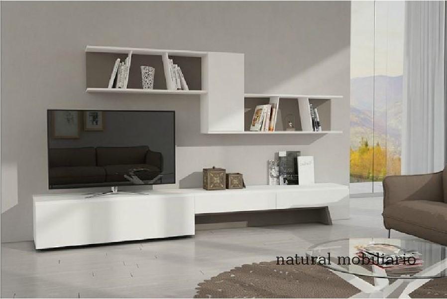Muebles Modernos chapa natural/lacados salon moderno gism 1-628-1012