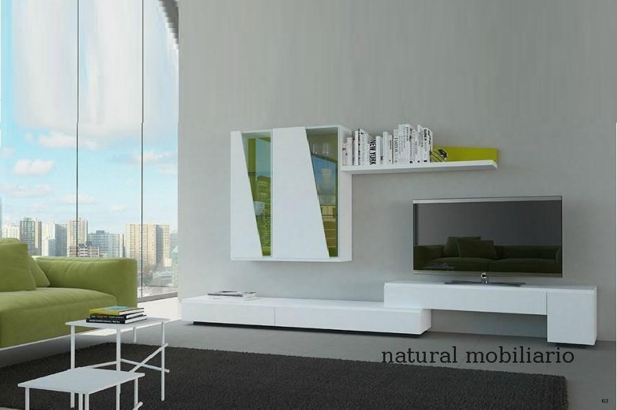 Muebles Modernos chapa natural/lacados salon moderno gism 1-628-1009