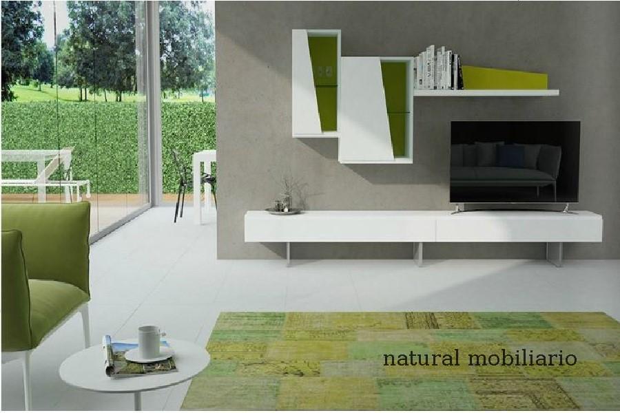 Muebles Modernos chapa natural/lacados salon moderno gism 1-628-1014