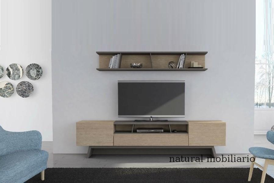 Muebles Modernos chapa natural/lacados salon moderno gism 1-628-1015