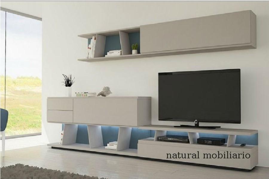 Muebles Modernos chapa natural/lacados salon moderno gism 1-628-1006