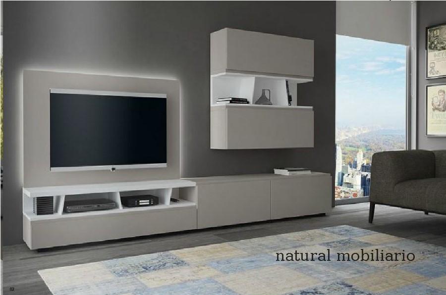 Muebles Modernos chapa natural/lacados salon moderno gism 1-628-1008