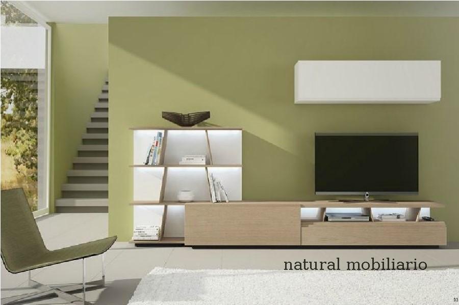Muebles Modernos chapa natural/lacados salon moderno gism 1-628-1007