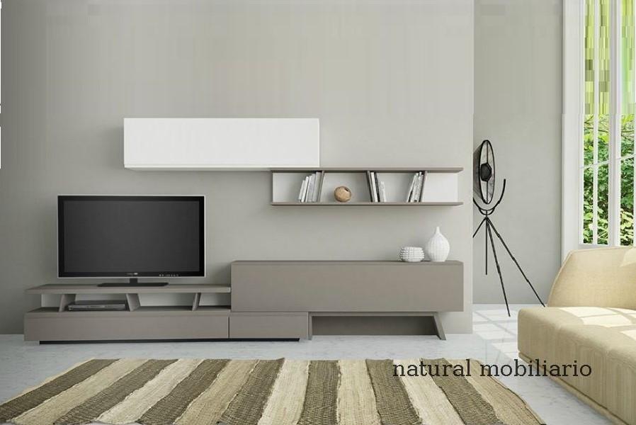 Muebles Modernos chapa natural/lacados salon moderno gism 1-628-1003