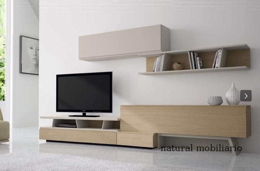 Muebles Modernos chapa natural/lacados salon moderno gism 1-628-1001